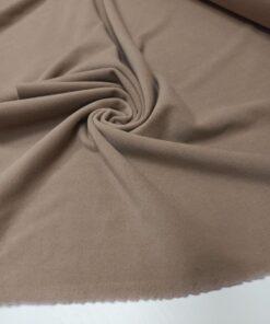 Серо-бежевая итальянская пальтовая ткань
