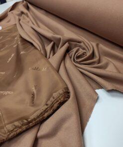 Пальтовая ткань Max Mara песочного цвета