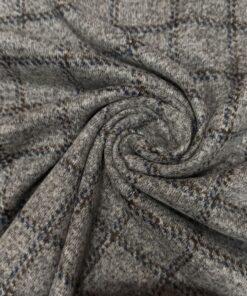 Итальянская пальтовая шерсть в клетку