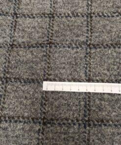 Купить шерсть в клетку для пальто в МОскве