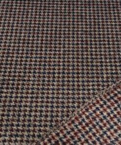 Пальтовая ткань в елочку купить в Москве