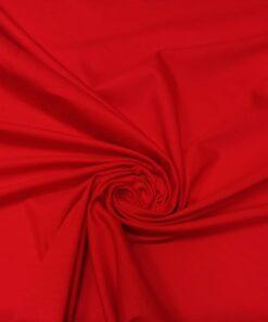 Хлопковый трикотаж красного цвета