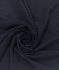 Темно-синий вареный шелк Max Mara