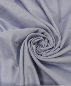 Батист сиренево-голубого цвета