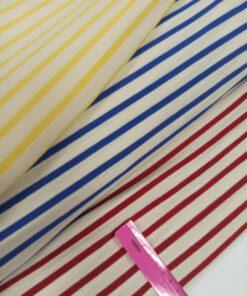 Полосатый трикотаж из Италии купить в интернет-магазине недорого в розницу