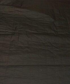 Стеганная черная курточная ткань с пропиткой