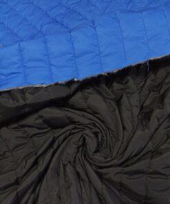Двухсторонняя сине-черная курточная ткань