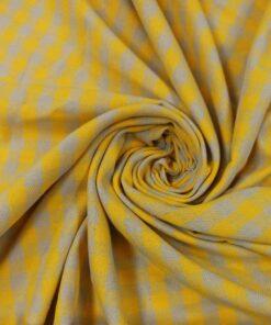 Клетка желтого цвета для жакета и брюк купить в Москве