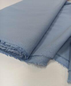 Итальянский шелк синего цвета