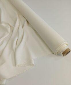 Итальянская белая ткань кади