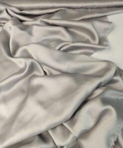 Серебристый Итальянский вискозный шелк