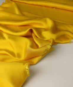 Желтый Итальянский вискозный шелк