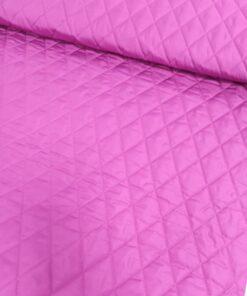 Курточная двухсторонняя ткань цвета фуксии